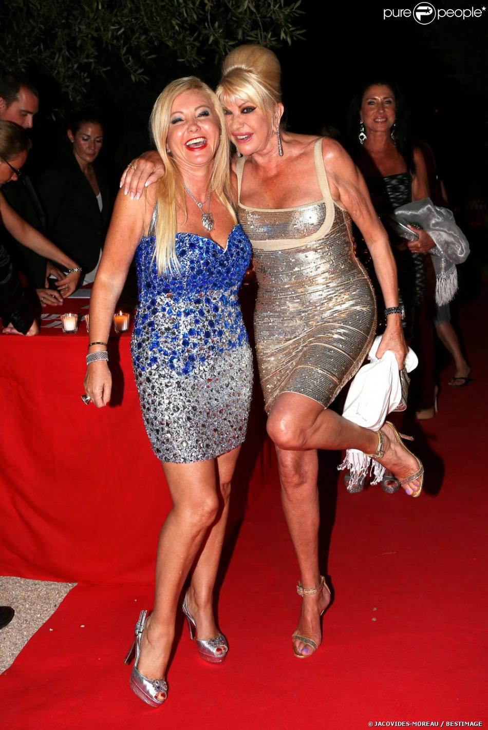 Herve Leger Sightings Ivana Trump At The Birthday Party