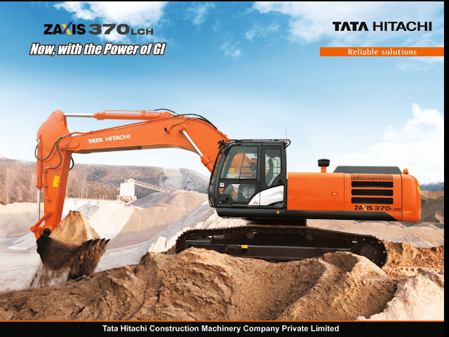 Tata Hitachi Launches the ZAXIS 370LCH GI-Series Hydraulic Excavator
