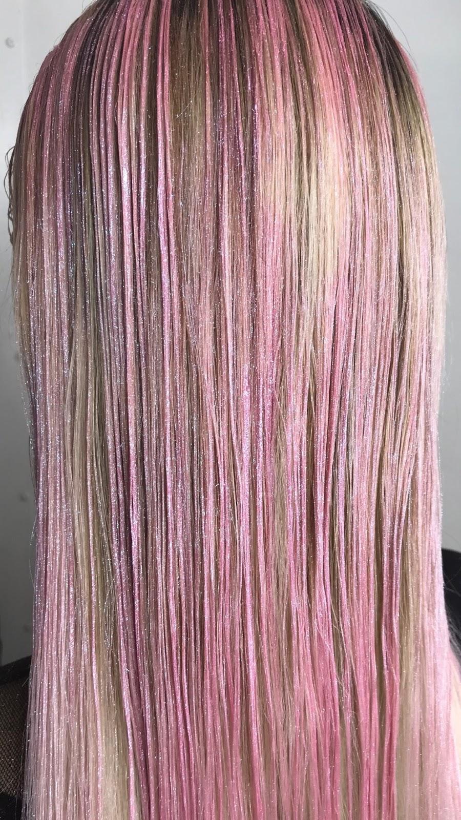 Foamo Holographic Hair Foam