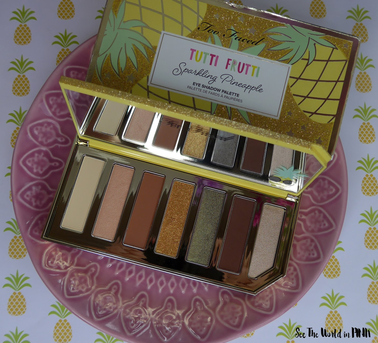 Too Faced Tutti Frutti Collection - Sparkling Pineapple Eyeshadow Palette