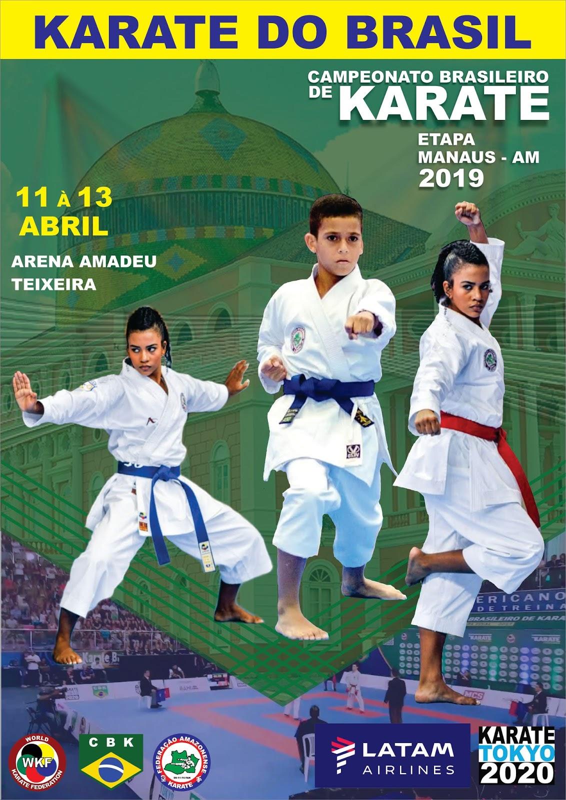 Campeonato Brasileiro de Karate - Fase Classificatória AM