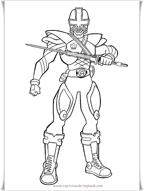Power Rangers Coloring Pages,