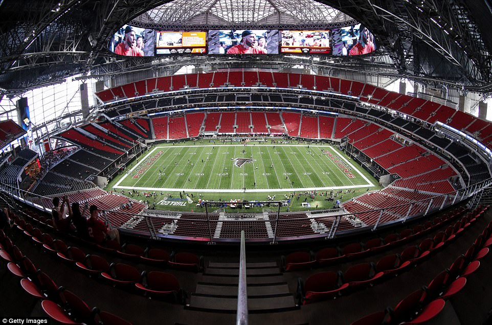 Video check out the magnificient 525 billion naira for Mercedes benz stadium atlanta capacity