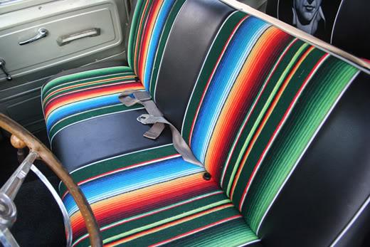 Bench Seat Saddle Blanket