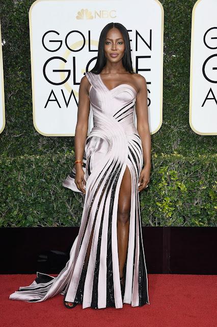 Naomi Campbell, de Versace.