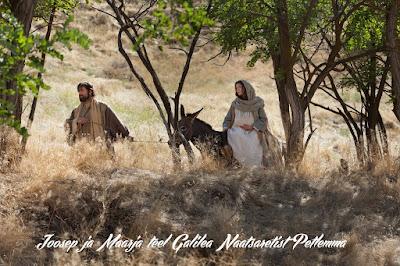 Joosep ja Maarja teel Galilea Naatsaretist Petlemma poole