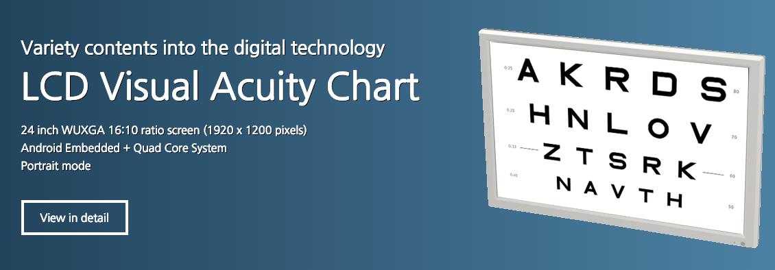 Digital Acuity System Lcd Eye Chart