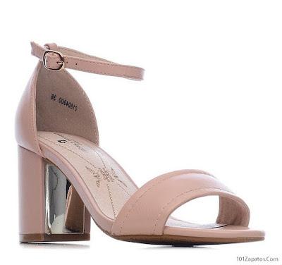 Sandalias de Tacón Ancho