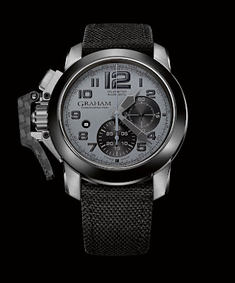 GRAHAM Chronofighter Oversize New Generation GREY STEEL (Ref. 2CCAC.S01A)