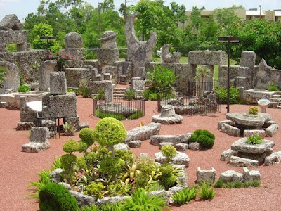 Il giardino di Coral Castle