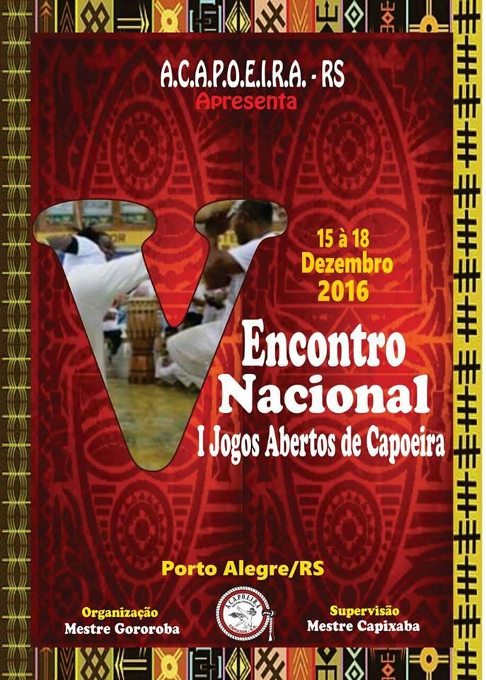 CAPOEIRANEWS  I JOGOS ABERTOS DE CAPOEIRA - PORTO ALEGRE - RS 39ea71f152489