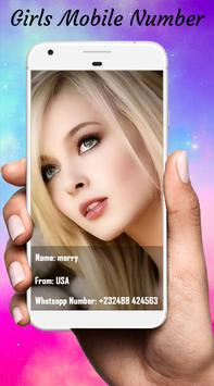 Girls Mobile Number:Girl phone number search prank Apk