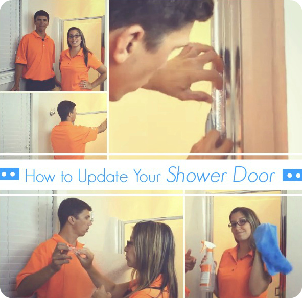 How to Update a Shower Glass Door