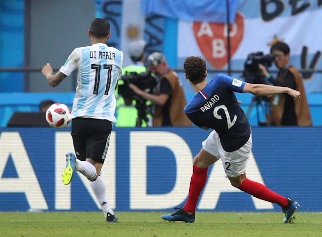 Benjamin Pavard wins World Cup goal of tournament award