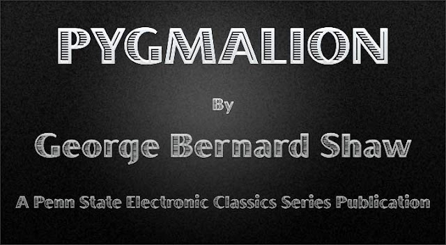 an analysis of pygmalion a play by george bernard shaw Literary analysis paper: aishwarya moothan 2013 of all of george bernard shaw's plays, pygmalion is without the doubt the most beloved and popularly received, if not the most significant in literary terms several film versions have been made of the play, and it has even been adapted into a musical .