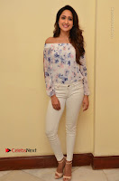 Actress Pragya Jaiswal Latest Pos in White Denim Jeans at Nakshatram Movie Teaser Launch  0020.JPG