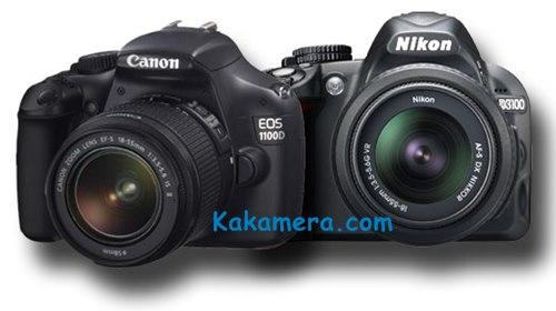 Harga Kamera DSLR Canon/Nikon Dibawah 4 Juta