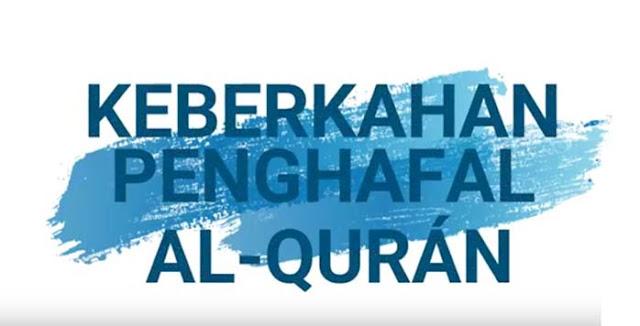 Ceramah Ustadz Abdul Somad - Keberkahan Penghafal Al Qurán