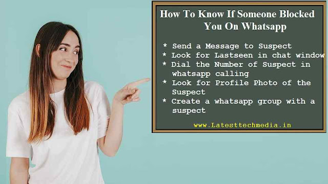 How To Know If Someone Blocked You On Whatsapp | Blocked
