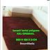 Karpet Lantai uk 200x120 x 2cm / Karpet Rasfur /karpet Bulu Halus Lembut