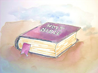 An illustration for a blog on Bible subjects.