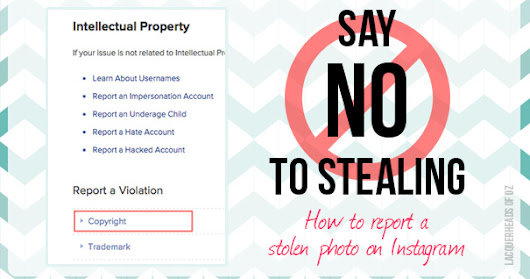 How To Report a Stolen Photo On Instagram