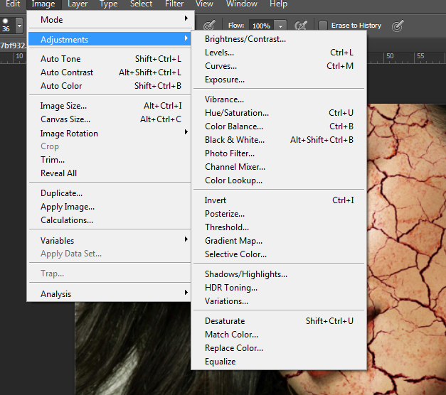 Tutorial - Make A Cool Crack Effect On Face Using Photoshop