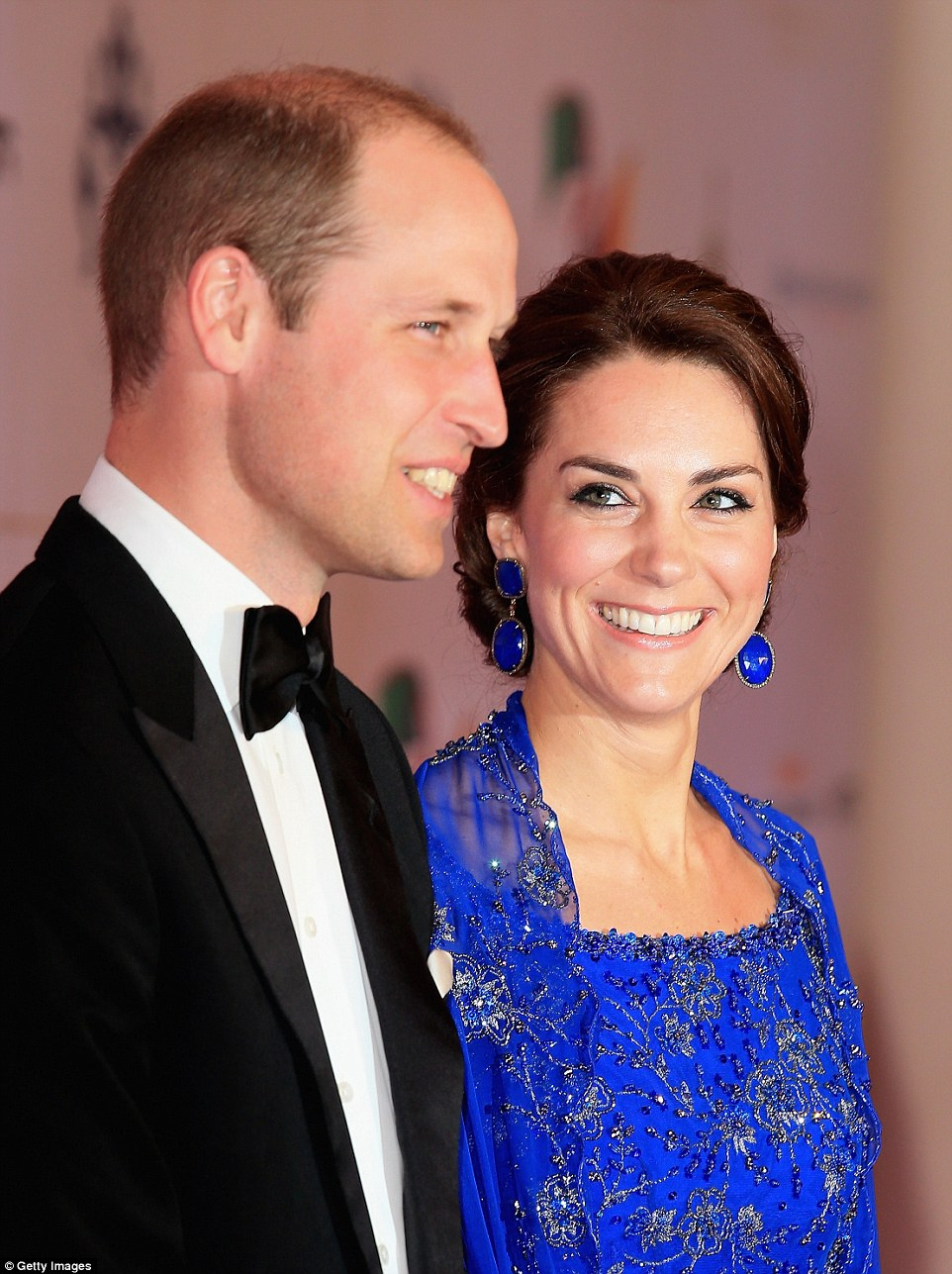 The Duke & Duchess of Cambridge attended a celebrity filled gala on Royal Tour