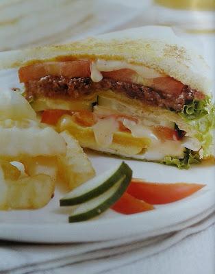 Gambar Resep Roti Kornet Lapis Tiga