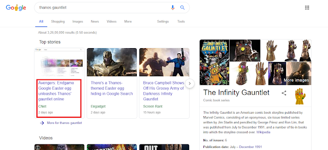 Thanos results