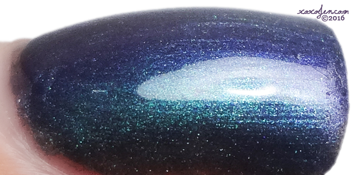 xoxoJen's swatch of Contrary Polish: Alexandrite