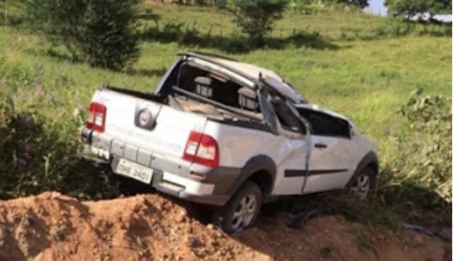 Motorista capota veículo próximo ao matadouro público em Mata Grande AL