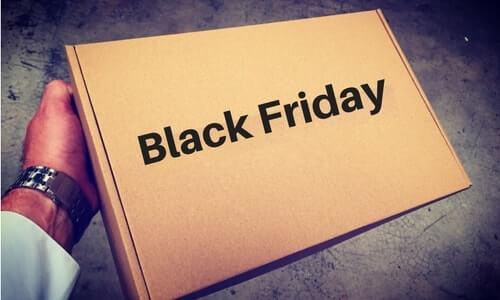 cajas para envios black friday