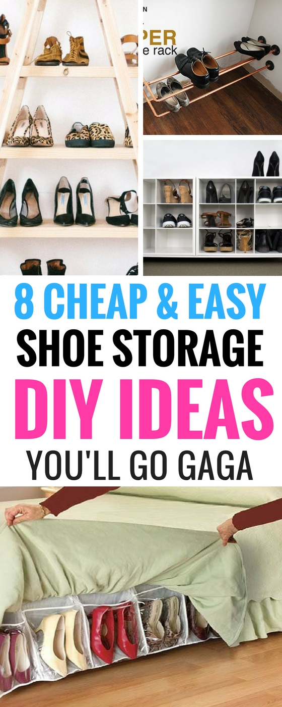 Shoe Storage Organization DIY Ideas For The Home Part 74