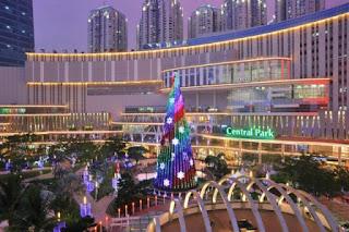 Central Park Jakarta di Antara Taman Anggrek dan Ciputra; Mall, Perkantoran, Apartemen, Hotel dan Ballroom Hall