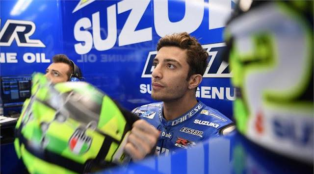 Pebalap Suzuki Ecstar, Andrea Iannone