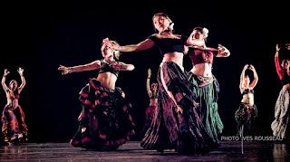 Danse, tribale, ats, cours, rennes