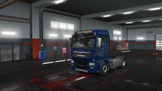 ets 2 european logistics companies paint jobs pack v1.1 screenshots 5, dachser