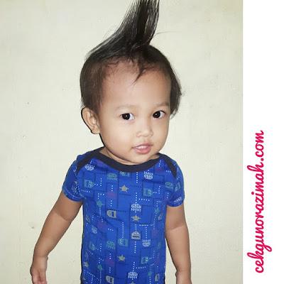 dhia zahra, fesyen rambut terkini, fesyen rambut anak perempuan, gaya  rambut pomade, rambut terpacak