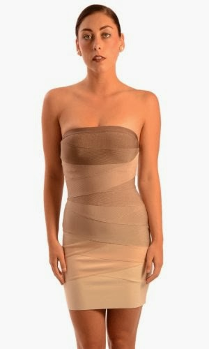 Herve Leger Women's Adeline Ombre Bandage Dress