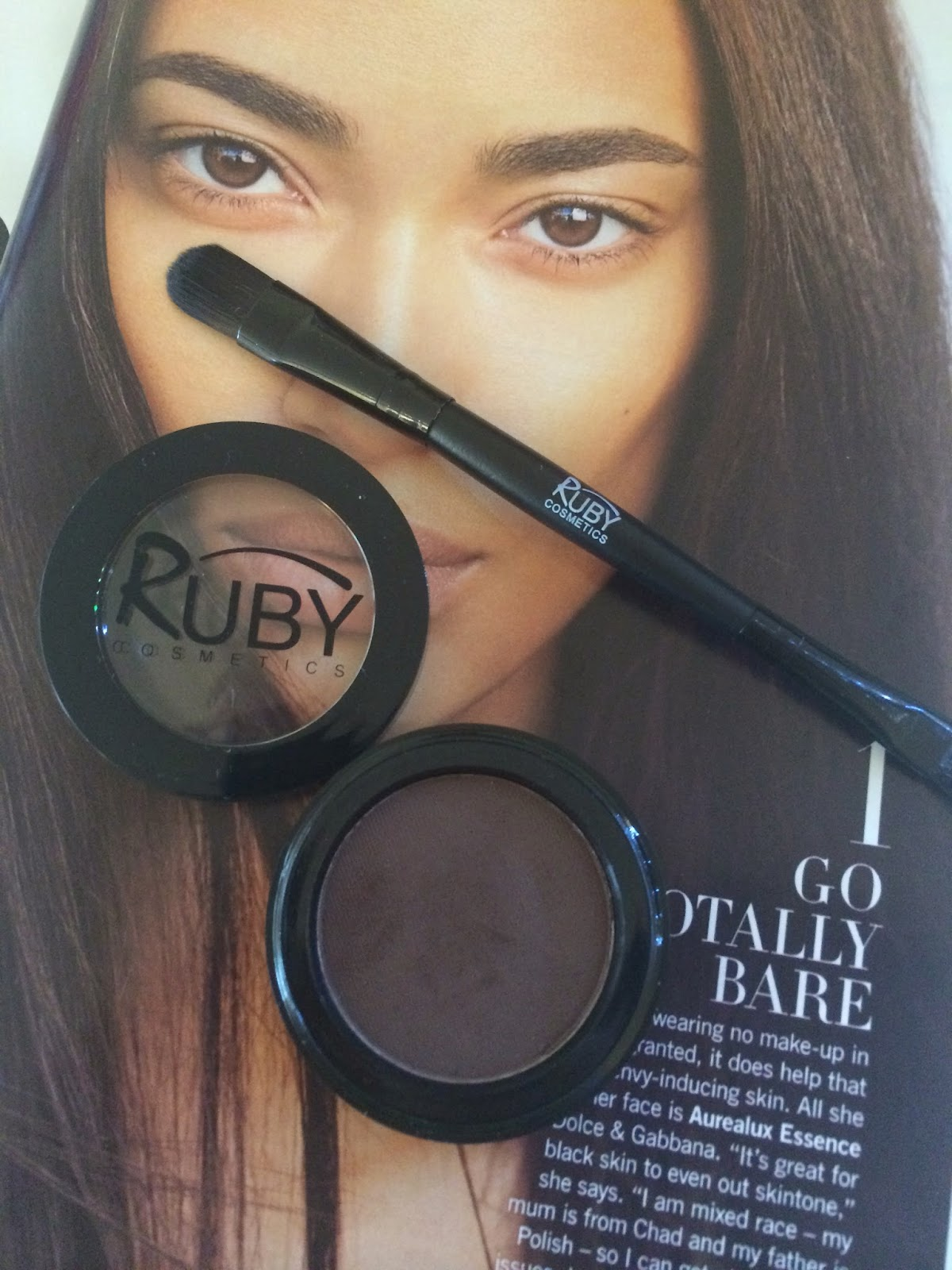 The Glamourelle Ruby Cosmetics Picture Perfect Brows