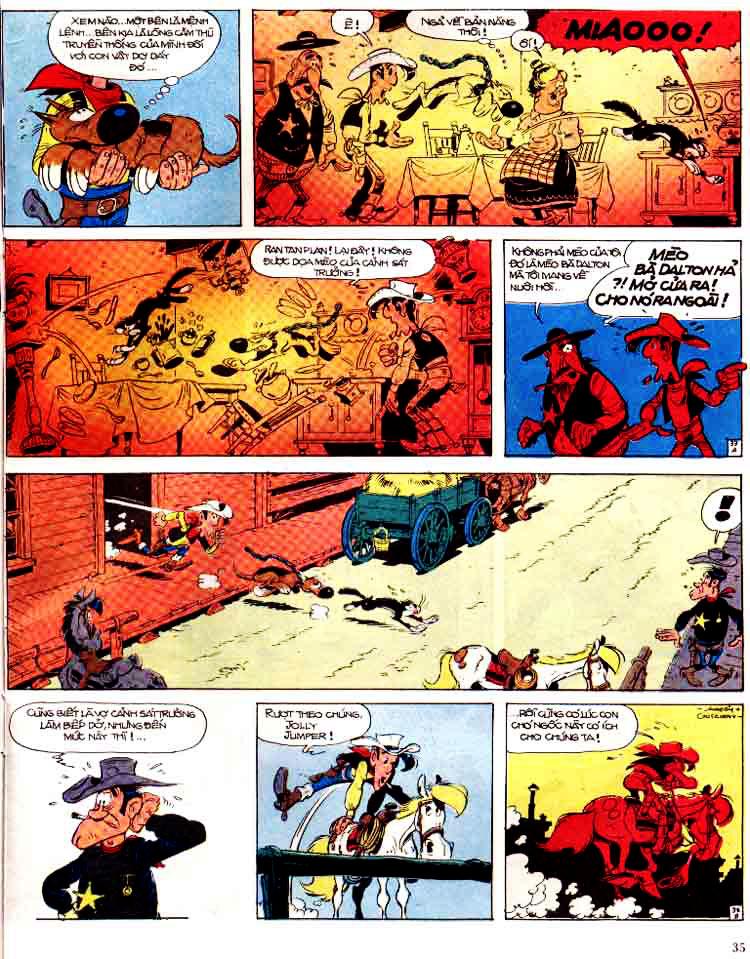 Lucky Luke tap 15 - ma dalton trang 36