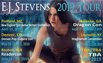 E.J. Stevens Appearances 2019 Tour Schedule