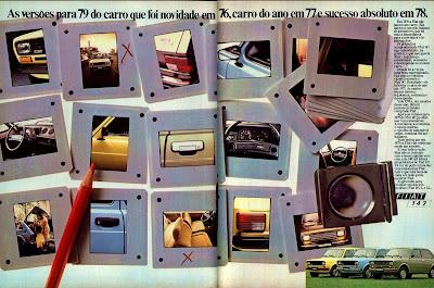 propaganda Fiat 147 - 1978