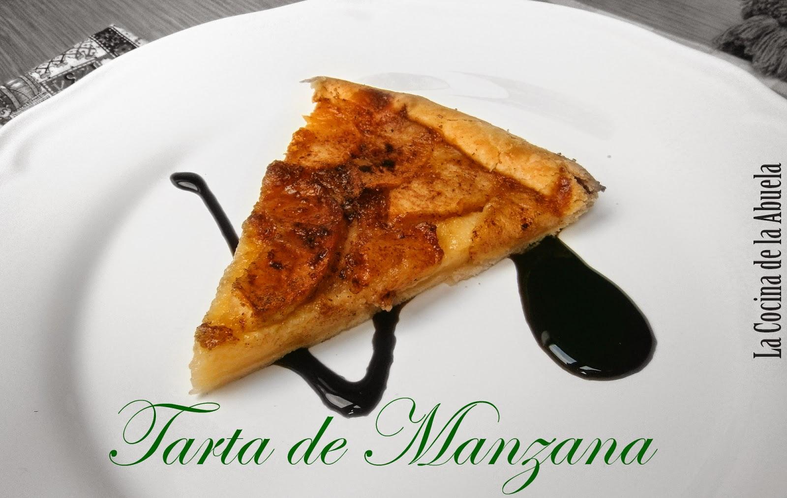 Tarta de Manzana Fácil.