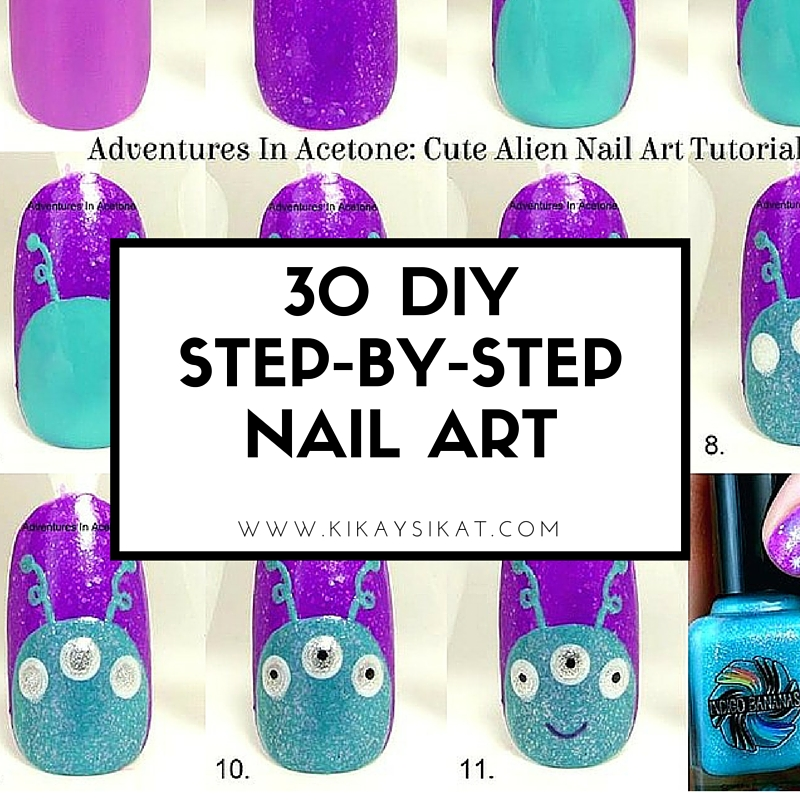 30 Simple Nail Art Step by Step Tutorials - Top Beauty ...