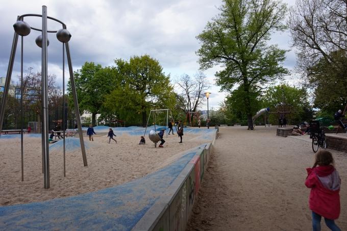 Lasten leikkipaikkoja Berliinissä