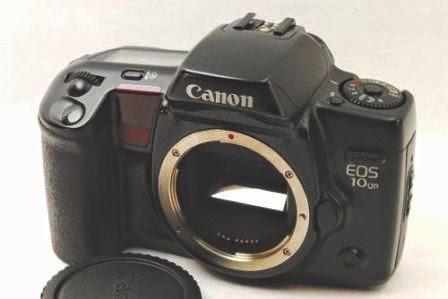Canon EOS 10 QD tampak depan body only