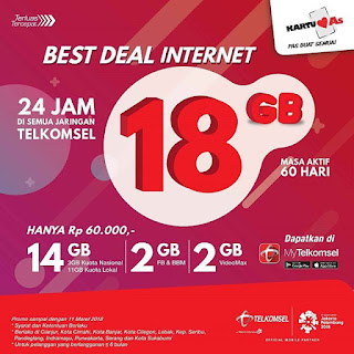 Cara Beli Paket Pasti Best Deal Telkomsel Di My Telkomsel