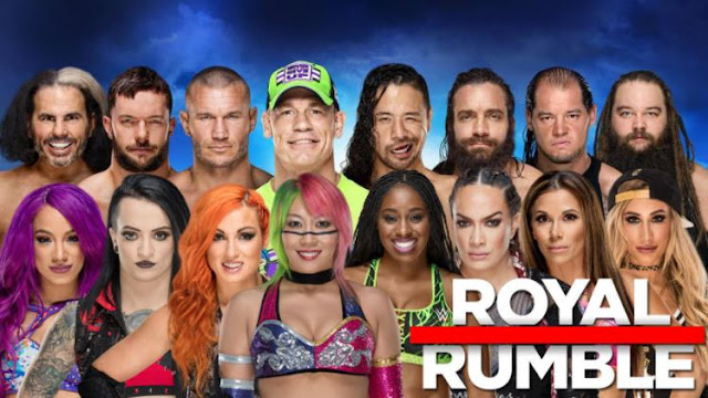 WWE Royal Rumble 2018 Time Date Full Card Predictions Online details
